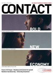 The cover of the March 2019 issue of Contact Magazine