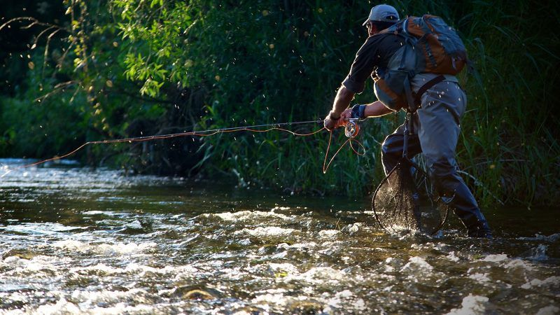 Pesca a Mosca en Madrid