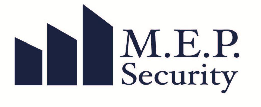 M.E.P Security   Beveiliging dienst logo