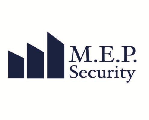 M.E.P Security | Beveiliging dienst logo