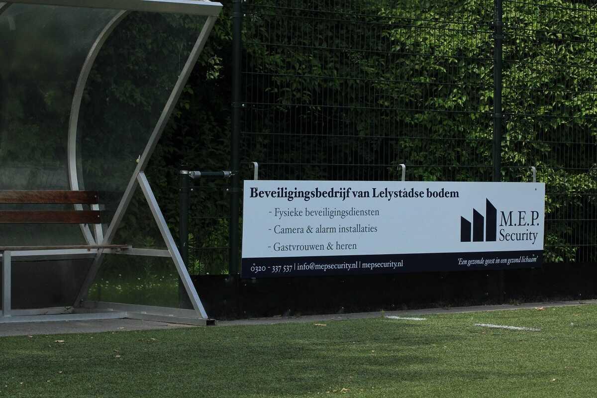 Sponsorbord Lelystad