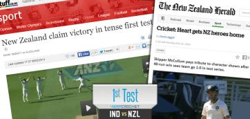 New Zealand wins Auckland Test