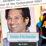 Sachin Tendulkar voted Cricketer of the Generation