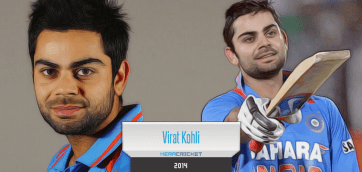Indian Batsman Virat Kolhi