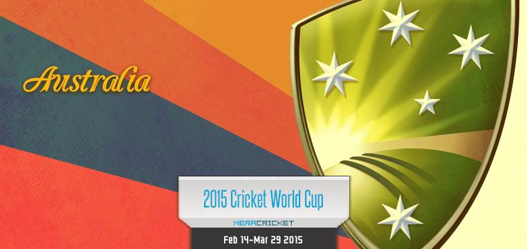 Australia Cricket Team World Cup Cricket 2015