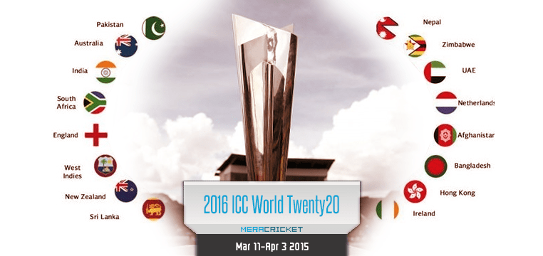 India to host T20 World Cup Cricket in 2016