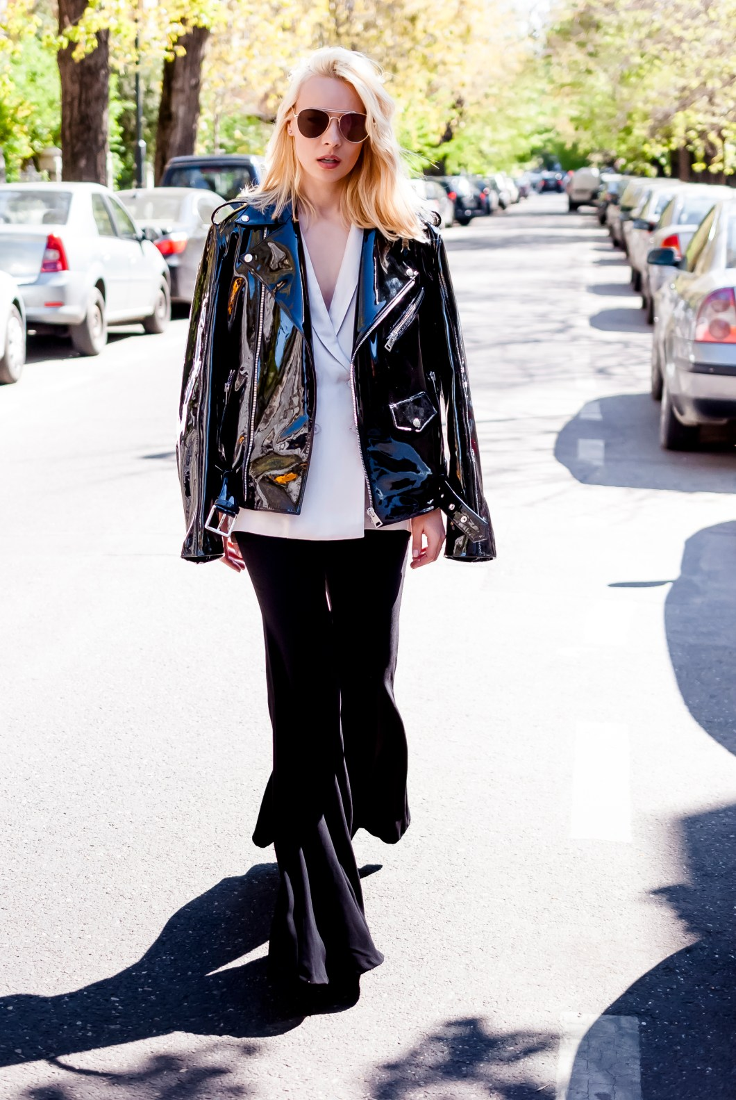 Street leather style
