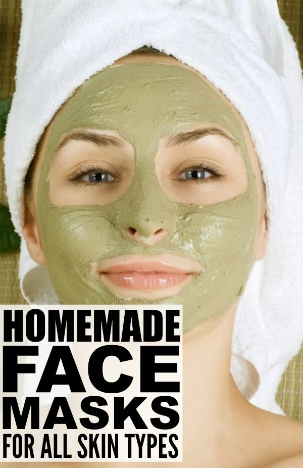 If you're looking for homemade face masks for blackheads, for oily skin, for wrinkles, for pores and/or for pimples that are moisturizing without causing breakouts and acne, this collection of DIY face masks for all skin types has you covered. Using ingredients you probably already have lying around your house - cinnamon, coffee, coconut oil, honey, and tumeric to name a few - gorgeous, glowing skin has never been easier!