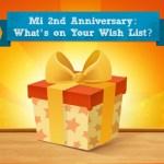Mi India Anniversary