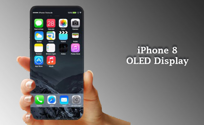 Apple iPhone 8 OLED Display, iPhone 8 to be Bezel-less