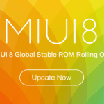MIUI V8.1.4.0 – The Global Stable ROM