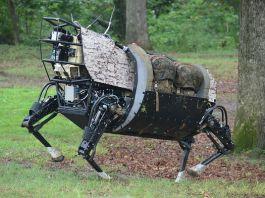 """combate DARPA robot"""