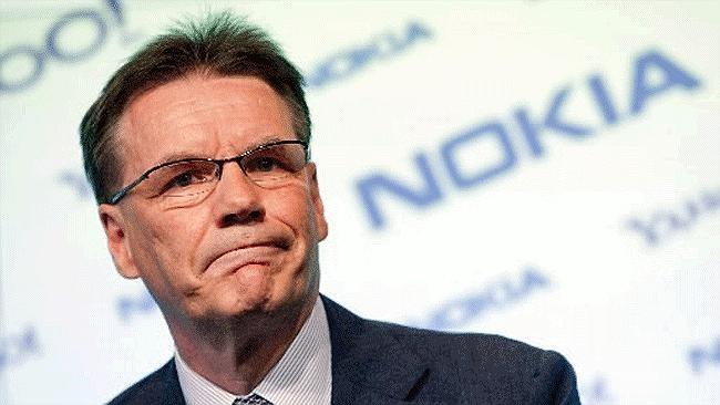 Olli-Pekka Kallasvuo CEO nokia