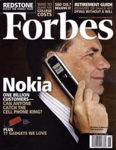 Nokia portada Forbes