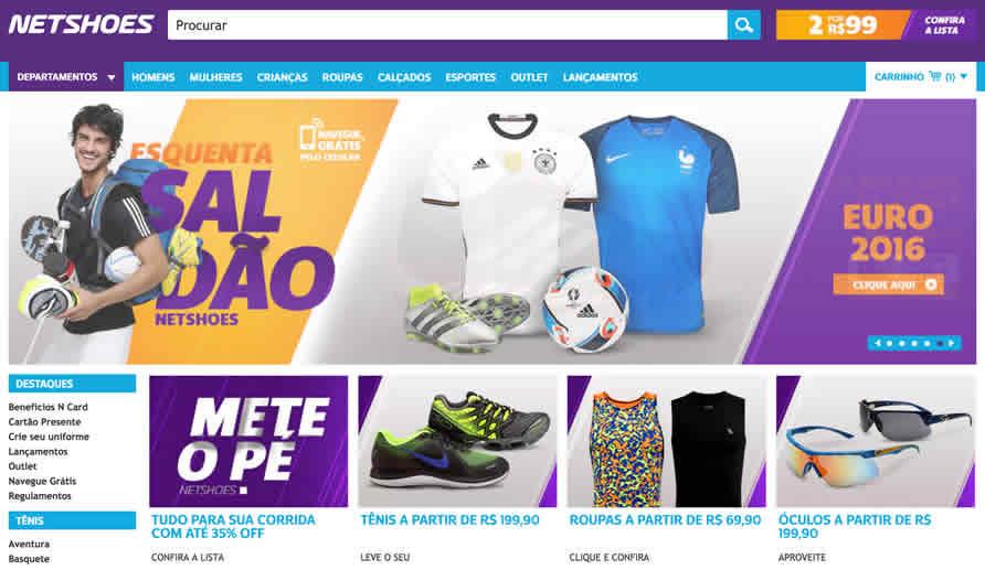 Parceria entre Netshoes e Correios lança modalidade de frete  Compre e  Retire  a1bda5f039