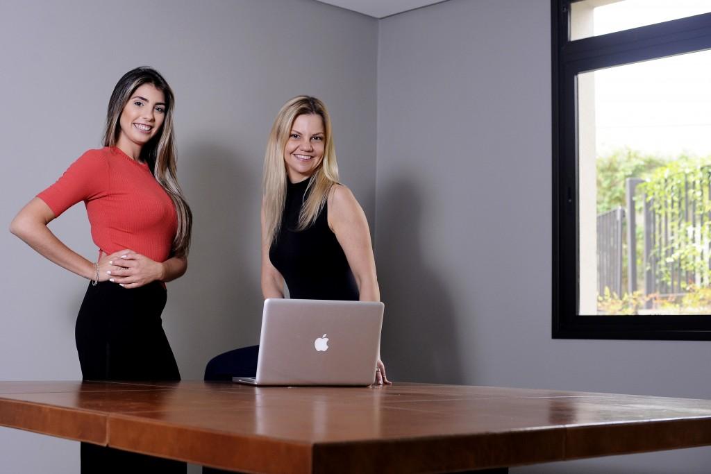 Beatriz Camargo e Renata Franceschini, sócias da Aurum