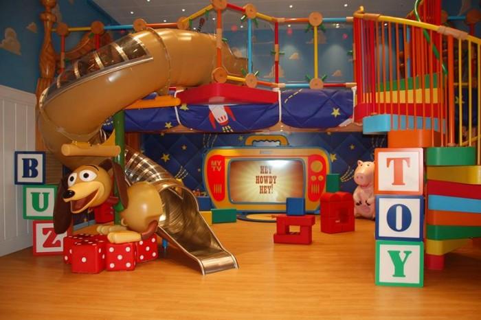 Área do Toy Story é novidade no Oceaneer