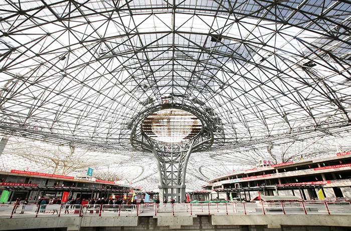 O novo aeroporto de Pequim a ser inaugurado em dois anos