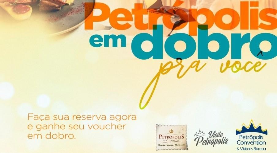 Hotéis e restaurantes de Petrópolis (RJ) lançam campanha ?Compre 1 e Ganhe Outro?
