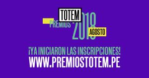 Ya empezaron las inscripciones para los Premios Totem 2018