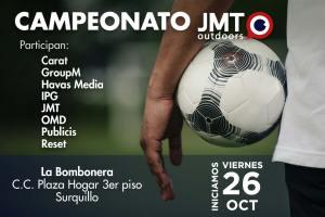 JMT Outdoors organiza Campeonato de Fútbol 7