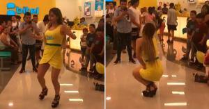 Bitel recibe ola de críticas por baile sensual de promotora durante activación