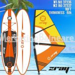 Windsrufing board W1-No 37336 W2-No 37337 10FT thinkness 6in