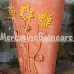 Vaso decorativo con Girasoli