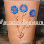 Vaso decorativo con Fiordaliso