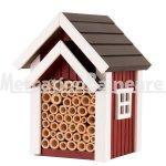 Casetta e Nido per api solitarie Wildlife Garden rossa