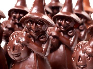 Halloween chocolates from Li-Lac Chocolates