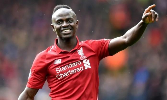 Sadio Mané l'attaquant de Liverpool