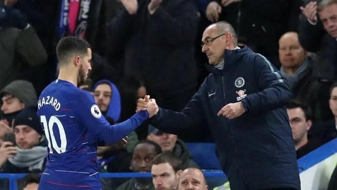 Hazard et Sarri quittent Chelsea