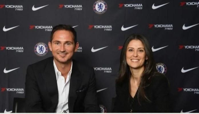 Frank Lampard est le nouveau manager de Chelsea