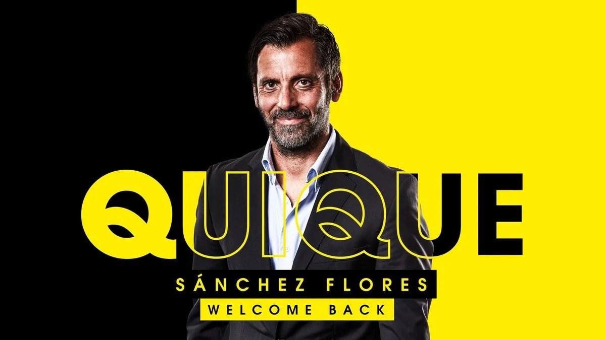 Quique Sanchez Flores revient chez les Hornets pour succéder à Javi Garcia