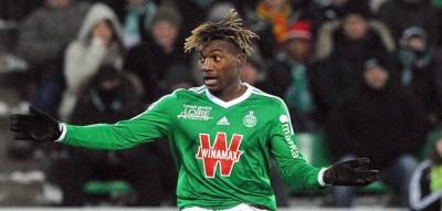 Allan SAINT MAXIMIN - 06.02.2015 - Saint Etienne / Lens - 24eme journee de Ligue 1 - Photo : Jean Paul Thomas / Icon Sport