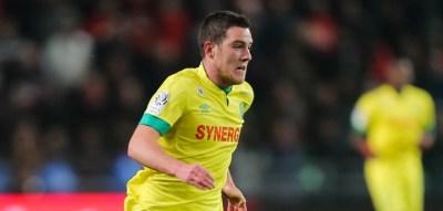 Jordan VERETOUT - 21.03.2015 - Rennes / Nantes - 30eme journee de Ligue 1 - Photo : Vincent Michel / Icon Sport