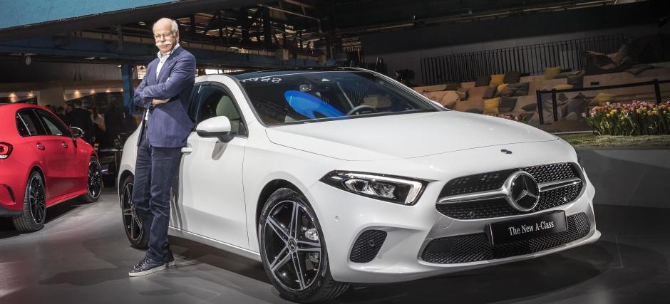 Premiere Der Neuen Mercedes Benz A Klasse Debt In