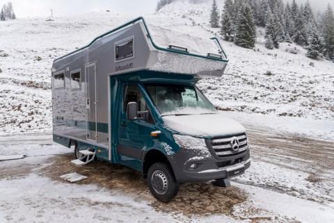 Mercedes-Benz auf der Caravan Motor Touristik 2020: Messeauftritt im Zeichen der Konnektivität Foto: Der LBX 365 von Bimobil mit Mercedes-Benz Advanced Control, MBAC (Prototyp)