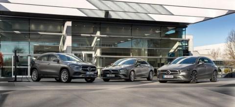 Drei neue Mercedes-Benz Plug-in-Hybridmodelle: CLA Coupé, CLA Shooting Brake und GLA jetzt mit EQ Power