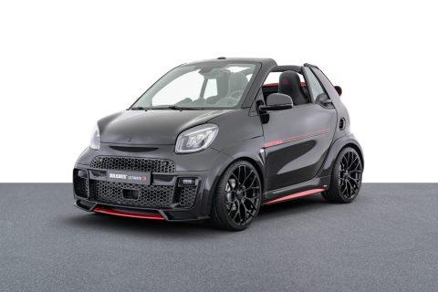 Streng limitiert: smart BRABUS Ultimate E Cabriolet