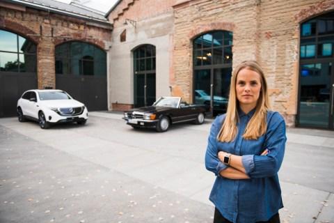 Bettina Fetzer und Gorden Wagener über die Faszination einer Marke und das Zusammenspiel von Marke, Design und Luxus Foto: Bettina Fetzer übernimmt zum 1. November 2018 die Leitung des Mercedes-Benz Marketings.