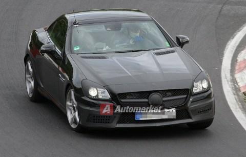 NUOVA SLK AMG 2012 test Nurburgring