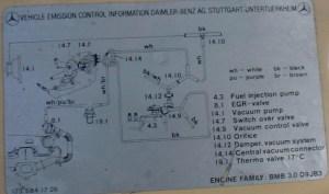 Diesel Vacuum system adjustments