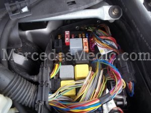 Fuses and Relays Location Designation S Class CL Class