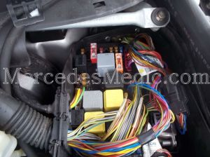 S CL Class W220 Fuses and Relays Location Designation 20002006 – MB Medic