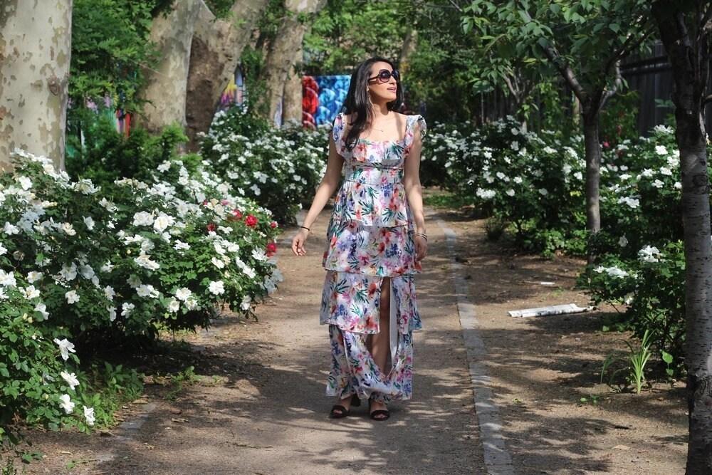 lower east side floral dress
