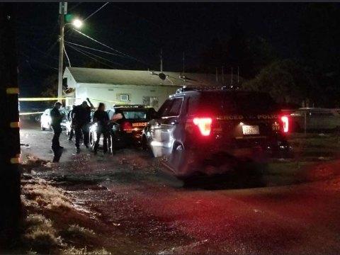 Merced Police on Scene