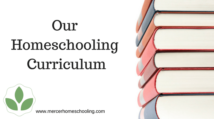 Our classical homeschooling curriculum