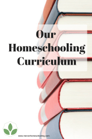 Our Homeschooling Curriculum